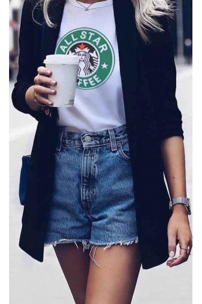 Camiseta Unisex FUCK YOUR FAKE Starbucks