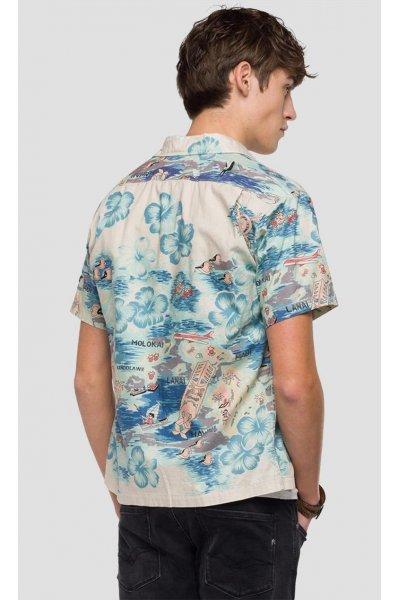 Camisa REPLAY Hawaiana