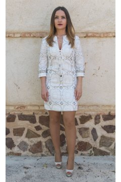 Vestido CONCEPTO PRIVEE Ibiza Luxe White