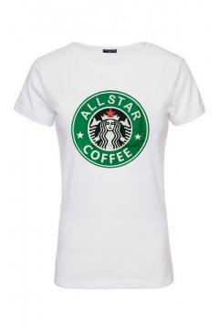 Camiseta Unisex FUCK YOUR FAKE Starbucks
