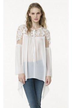 Blusa FRACOMINA Blanca