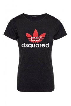 Camiseta Unisex FUCK YOUR FACE Dsquared2 Adidas Negra