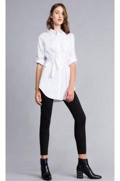 Camisa TWIN-SET Larga Popelina