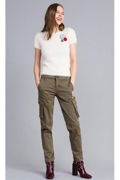 Pantalón TWINSET Militar
