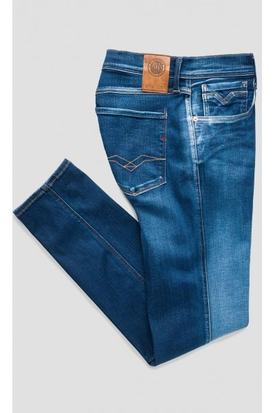 Vaqueros REPLAY Slim Hyperflex Anbass Blue