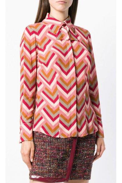 Camisa ELISABETTA FRANCHI Estampado Mosaico Multicolor