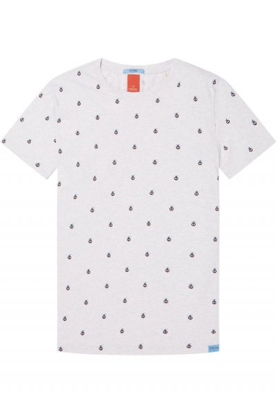 Camiseta SCOTCH & SODA Print Teleféricos 145528 0217