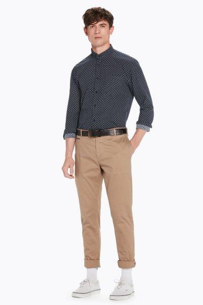 Camisa SCOTCH & SODA Cloqué Regular Fit 145399 0217