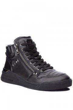 Sneaker GUESS Negra Abotinada FMKNM4 LEA12