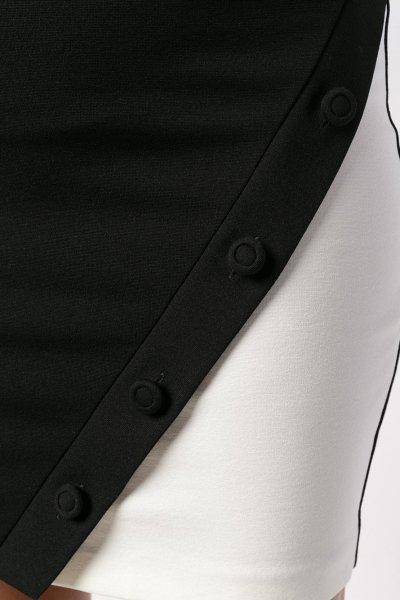 Vestido TWINSET Recto Combinado PA821G