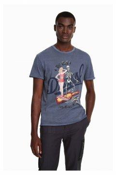 Camiseta DESIGUAL Fabian 18WMTK01