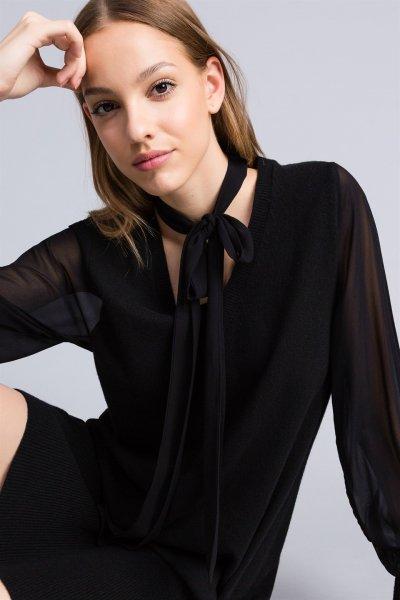 Vestido TWINSET Negro TA8331