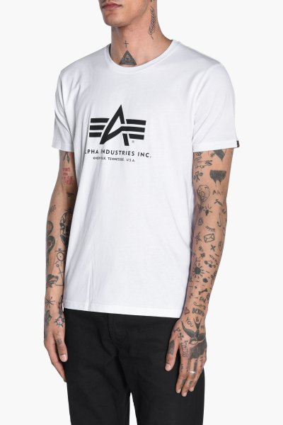 Camiseta ALPHA INDUSTRIES Basic T-Shirt Logo 1005001