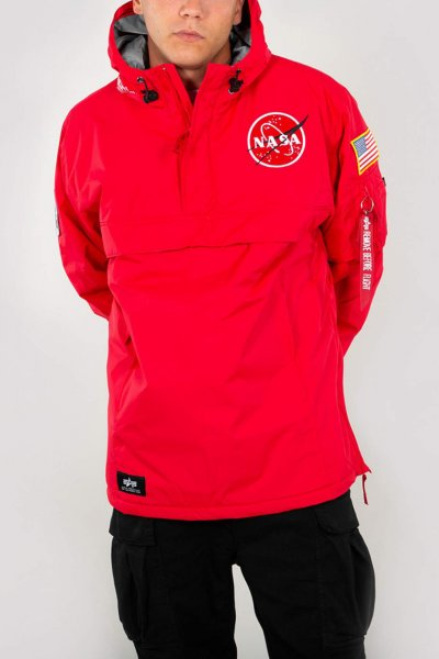 Anorak ALPHA INDUSTRIES Nasa Speed Red 188133
