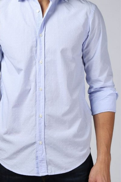 Camisa SCOTCH & SODA Relaxed Fit Microdibujo 144930
