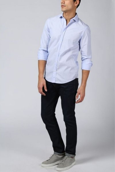 Camisa SCOTCH & SODA Relaxed Fit Microdibujo 144930