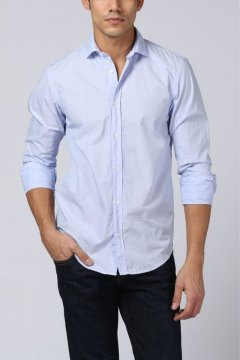 8316e55777 Camisa SCOTCH   SODA Relaxed Fit Microdibujo 144930 ...