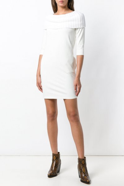 Vestido TWINSET Crudo PA8214