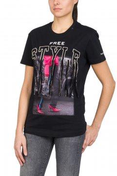 Camiseta REPLAY Free Style Flecos W3940D