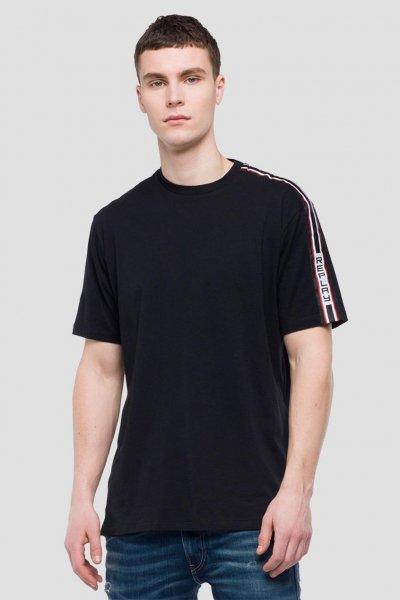 Camiseta REPLAY Banda Logo M3612L