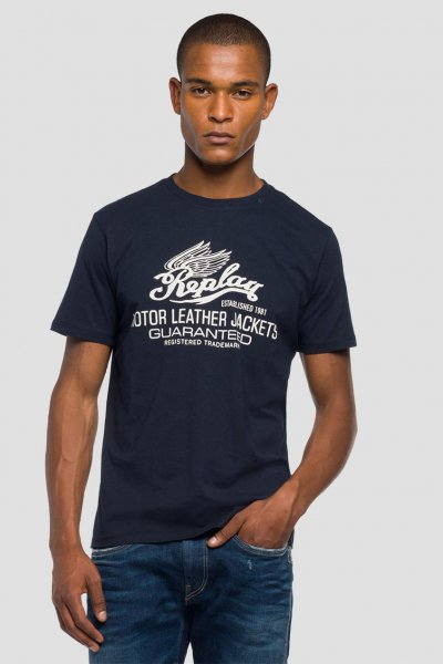 Camiseta REPLAY Estampado Motor M3597