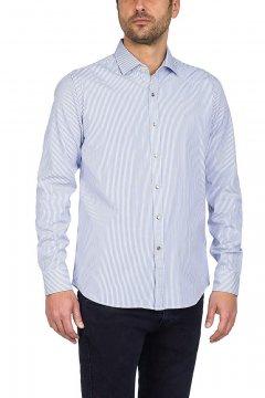 Camisa REPLAY Rayas Azules M4908B