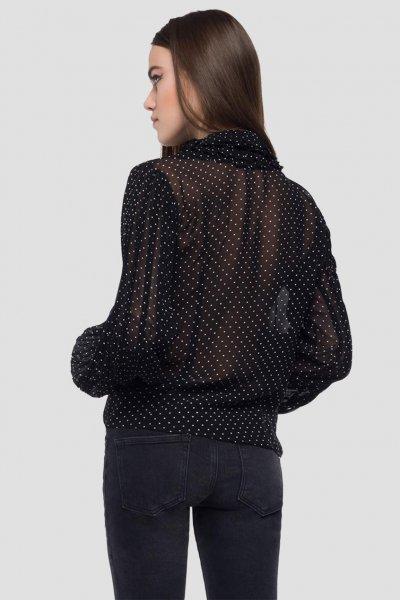 Camisa REPLAY Georgette Lunares W2894