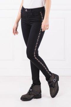 Jeans TWINSET Negro Chapas ja82r3