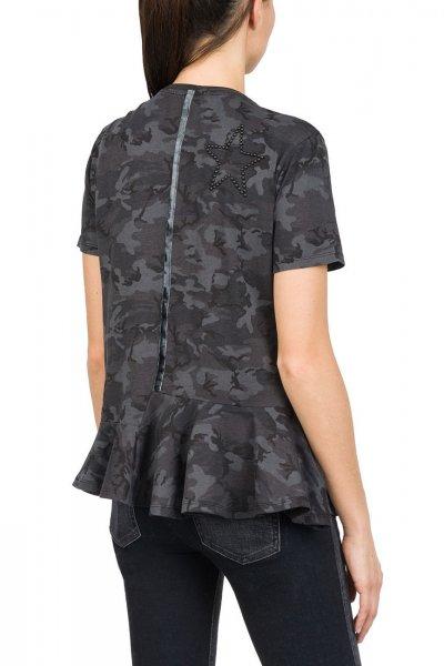 Camiseta REPLAY Camuflaje Estrellas W3950B