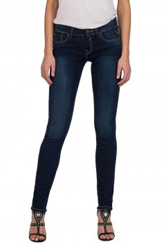 Pantalones REPLAY Vaqueros Vicky Straight Oscuros WX648 41A 601