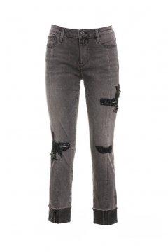 Jeans FRACOMINA Gris Recto FR18FMJDARLENE03