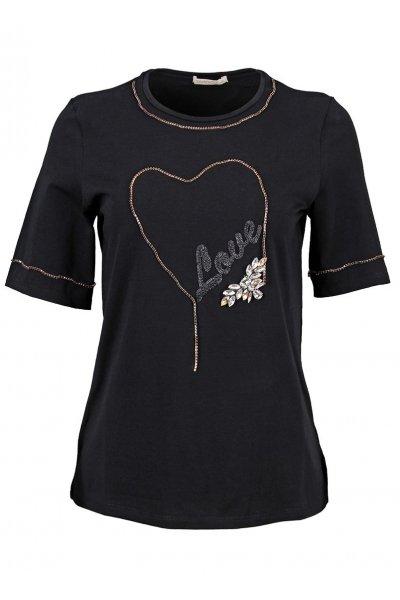Camiseta SAHOCO Corazón Brillo SH1803474R