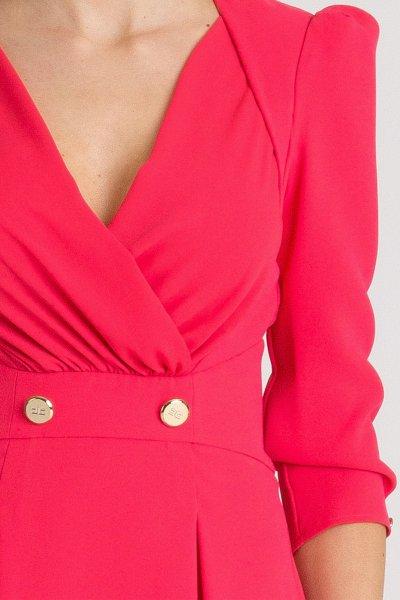 Vestido ELISABETTA FRACHI Fresa AB72291E2