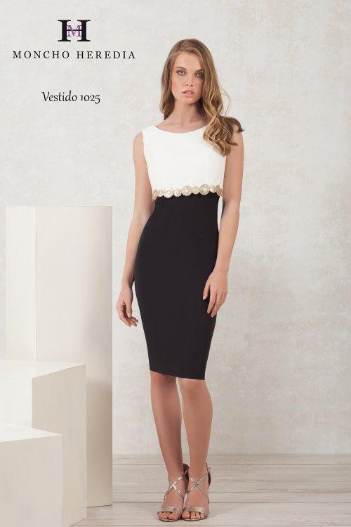 Vestido MONCHO HEREDIA Bicolor 6911025