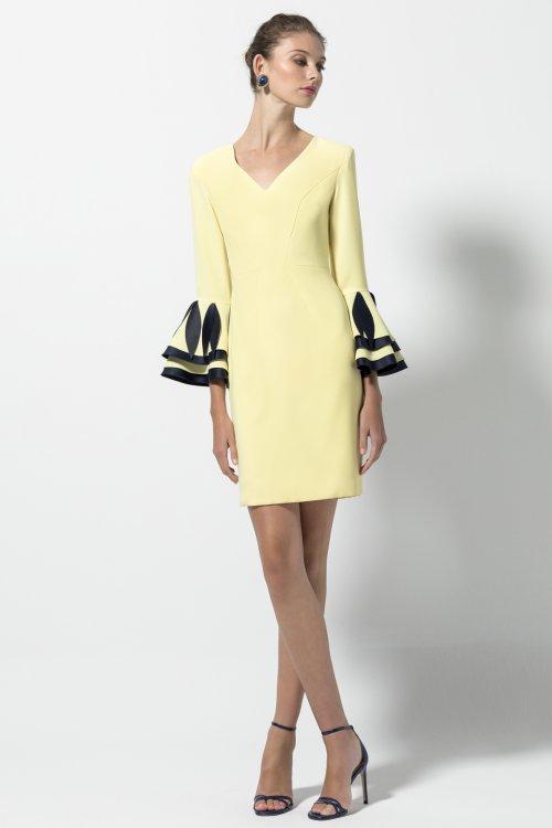 Vestido EVASSÉ Amarillo 519.08014