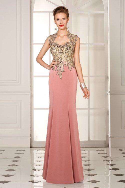 Vestido SUSANNA RIVIERI Largo Cuerpo Bordado 307188