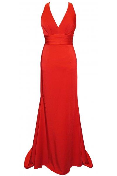 Vestido CARLA RUIZ Largo Cola 95475