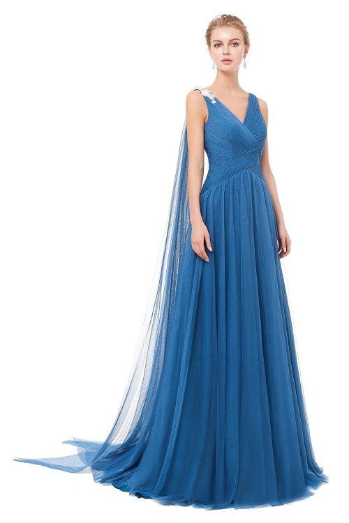 Vestido X&M Largo Tul 8076
