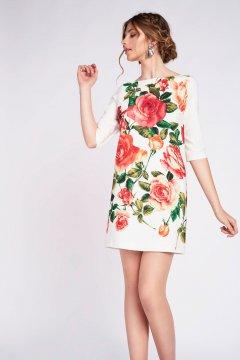 Vestidos cortos estampados florales