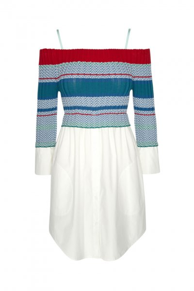 Vestido HIGHLY PREPPY Tricot Mixed 5079