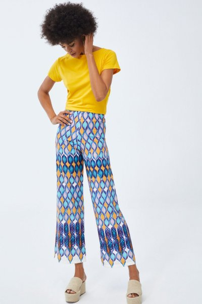 Pantalón LOLITAS Estampado Étnico 19s219
