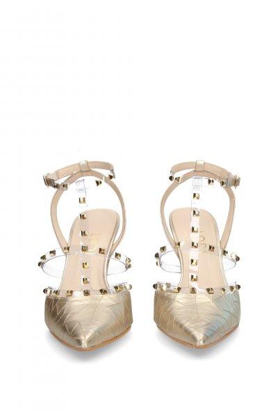 Zapato LODI Dorado Tachas RAILE