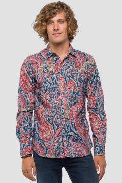 Camisa REPLAY Estampado Paisley M4953W.000.71720