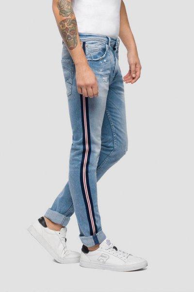 Jeans REPLAY Andov Banda Lateral MA999E.000.69C484R