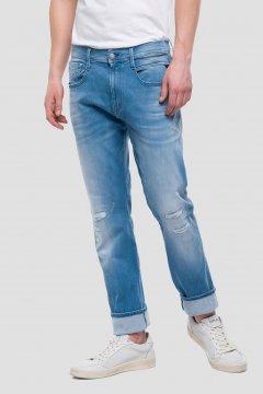 Jeans REPLAY Anbass HyperFlex Broken & Repair M914 661 209