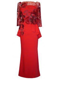 e20107c70e VESTIDO PEPLUM NURIA MODA D Dresses Peplum Dress y
