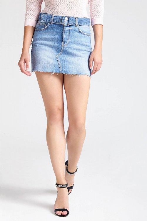 Minifalda GUESS Vaquera W92D37D3LD0