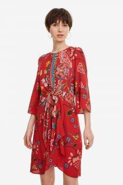 Vestido DESIGUAL Rojo Glen 19SWVWAE