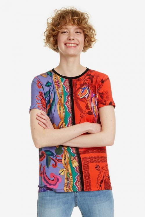 Camiseta DESIGUAL Craft 19SWTKCU