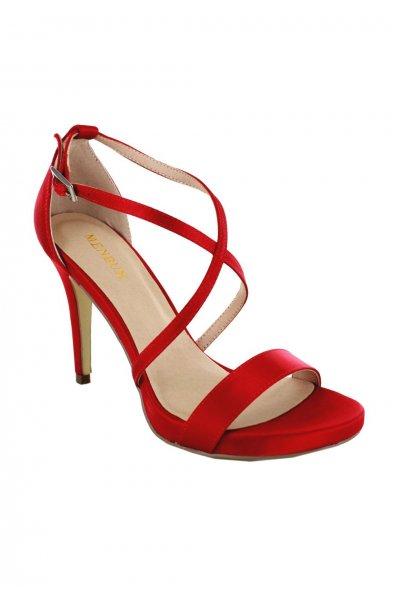 Sandalia MENBUR Rojo Ulmi 020480